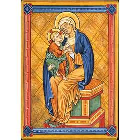 Vierge à l'Enfant (Montage plat)