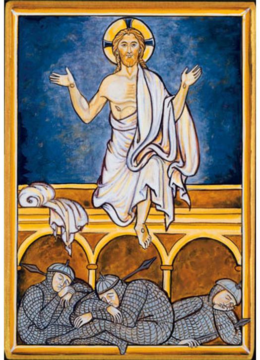 Résurrection de Notre-Seigneur (Montage plat)