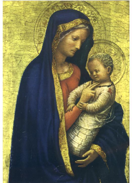 Virgen del Cardinal Casini