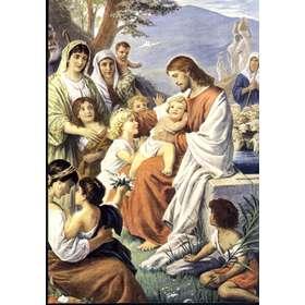 Jesús bendiciendo a los niños