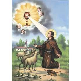Saint Pascal, patron of Eucharistic Congresses
