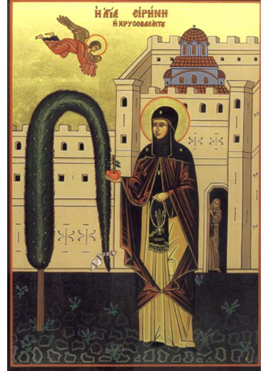 Saint Irene, Abbess of Constantinople
