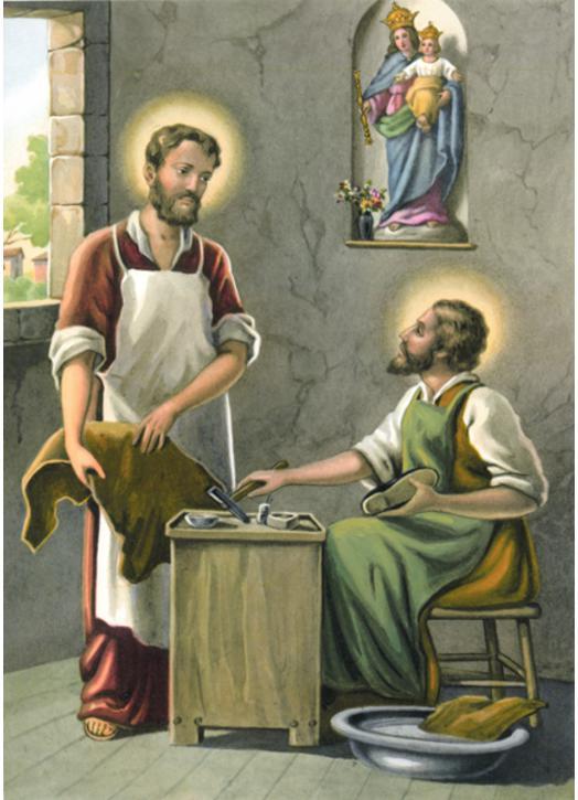 Saint Crépin et Saint Crépinien