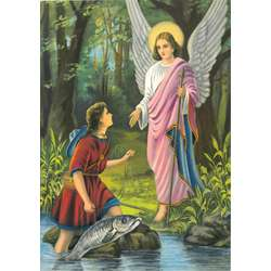 Saint Raphael, invoked as the Angel of medicine