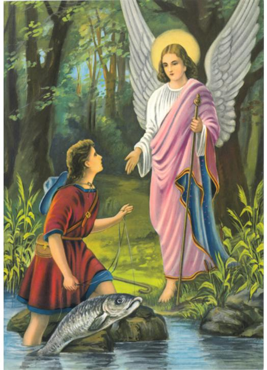 Saint Raphael, invoked as the Angel of medicine