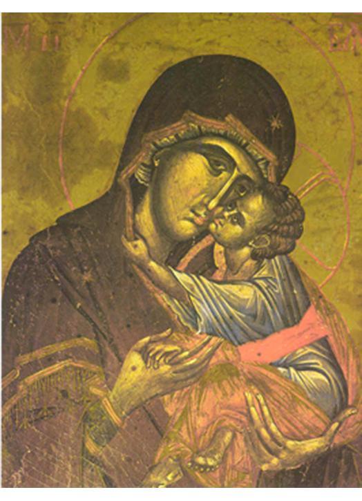 Eleousa Virgin