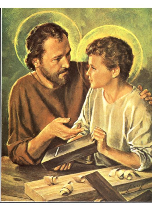 Saint Joseph the Worker with the Child Jesus