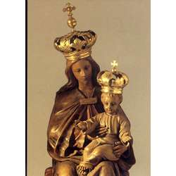 Mary as Queen and the Child Jesus