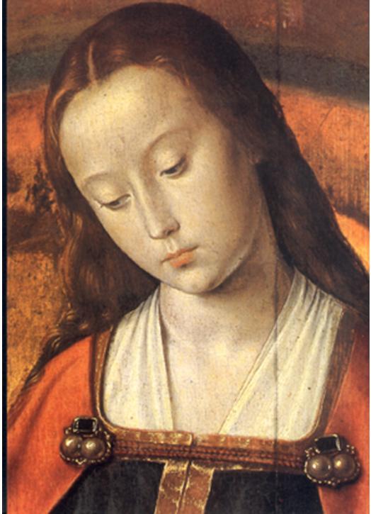 The glorious Virgin (detail)