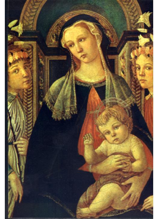 Icono La Virgen María Con El Niño Jesús Productos Religiosos