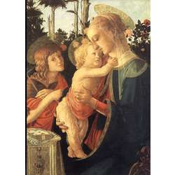 De Maagd, het Kind en St Jan de Doper