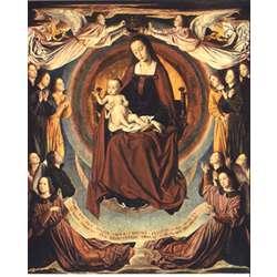 Virgen del Maestro de Moulins