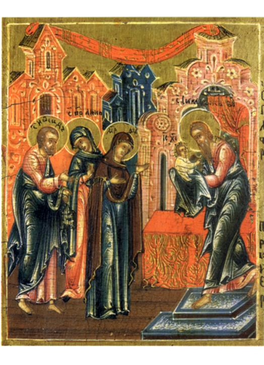 The Presentation of Our Lord (detail)