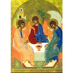 Icono de la Santísima Trinidad