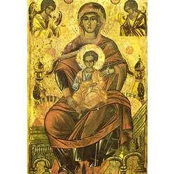 Vierge en Trône