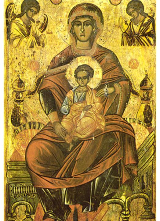 Virgin Enthroned