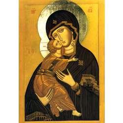 Vierge de Vladimir (copie)