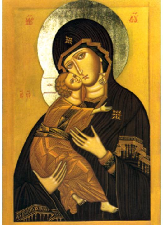Virgen de Vladimir (copia)