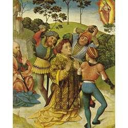 Saint Stephen, his martyrdom