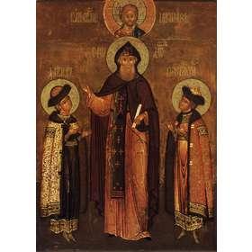 Santos Teodoro, David y Constantino