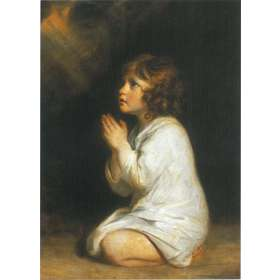Saint Samuel in prayer