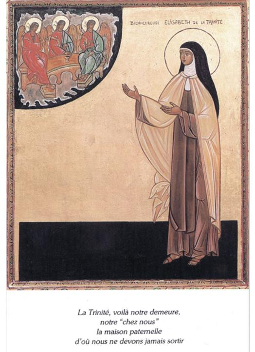 Blessed Elisabeth of the Trinity