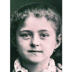 Sainte Thérèse de l'Enfant Jésus à huit ans