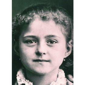 Santa Teresita a los ocho años de edad