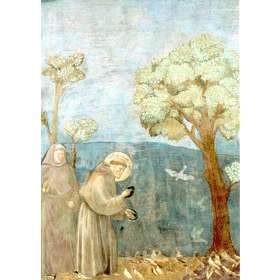 St Francis preaches to the birds