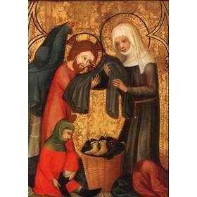 Santa Isabel de Hungría vistiendo a los pobres