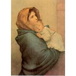 La Virgen María con el Niño