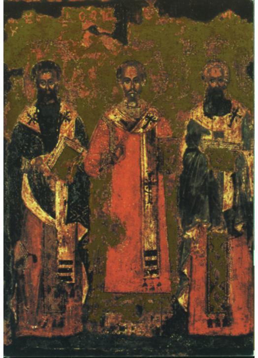Saint Basil, Saint Gregory and Saint John Chrysostom