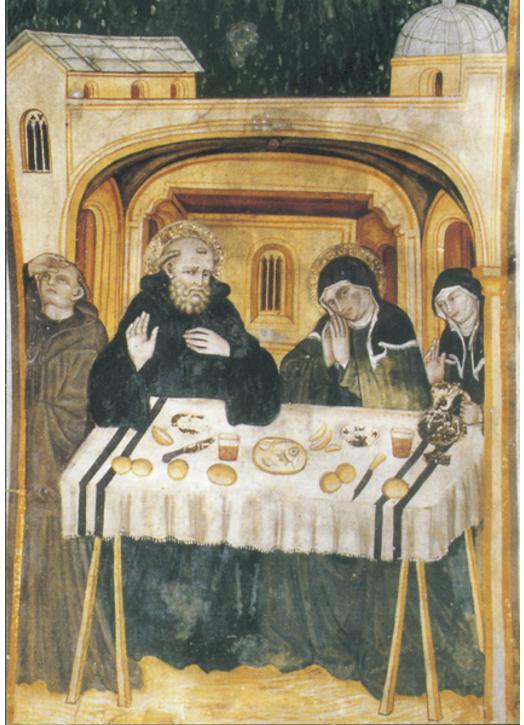 Saint Benedict et Saint Scolastica