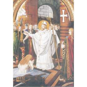 San Remigio (el bautismo de Clodoveo)