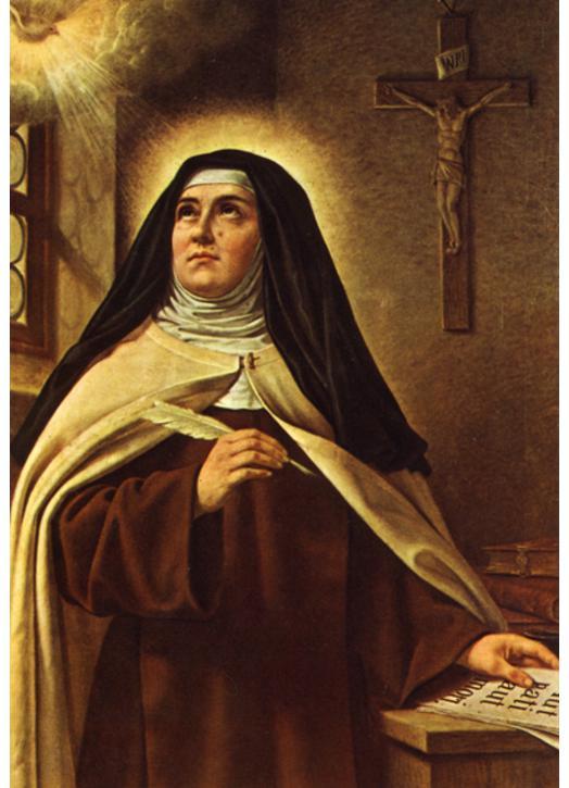 Andere Heiligen H Theresia Van Jezus Réf Ic7049df