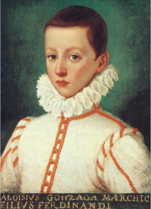Saint Aloysius Gonzaga (1568-1591)