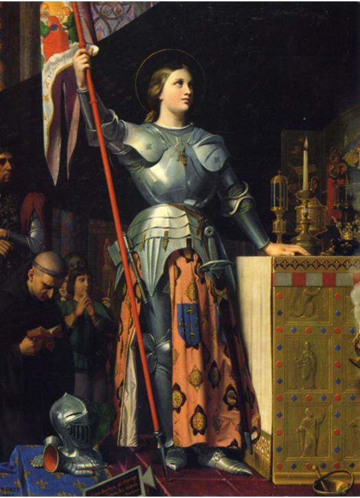 Sainte Jeanne d'Arc au sacre du Roi Charles VII