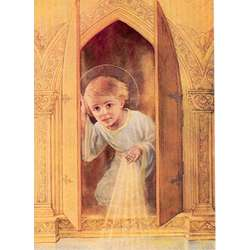 The Child Jesus at the Tabernacle