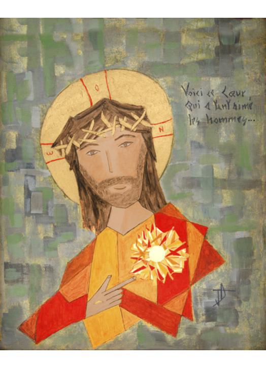 The Sacred of Jesus