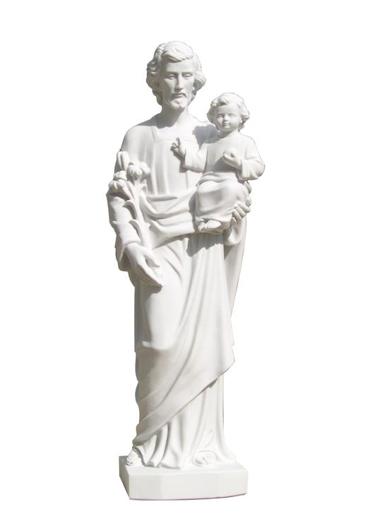 Vente Statue de saint Joseph, 60 cm