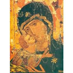 Vierge de Vladimir (détail) (détail) (PRB, ML)