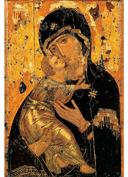 Icône de la Vierge de Vladimir (TG, M)