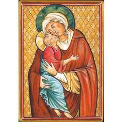 Vierge de Tendresse (Montage plat)