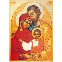 lcône de la Sainte Famille de Nazareth (PRB, S, G, M)