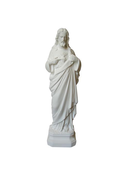 El Sagrado Corazón, 30 cm (Vue de face)