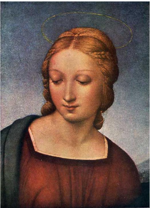 La Virgen del jilguero (M)