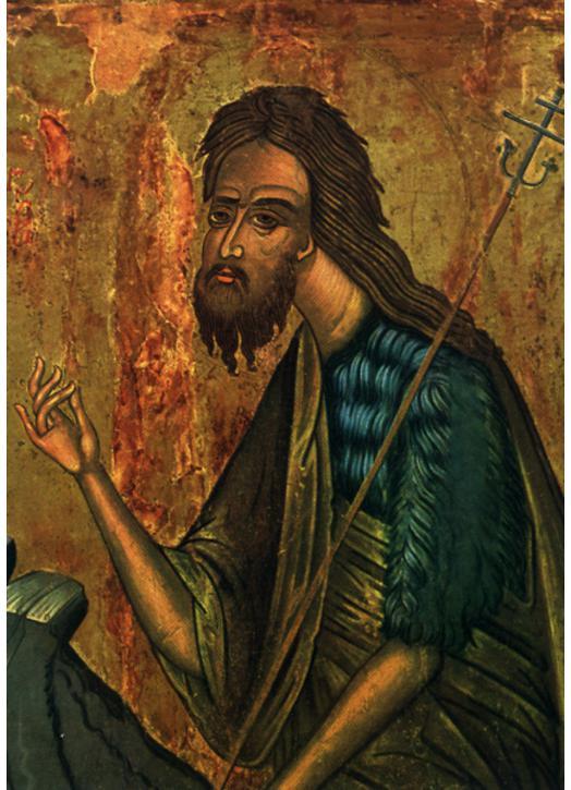 Saint John the Baptist (detail)
