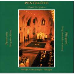 CD -Pentecostés- (Canto gregoriano) Misa y Vísperas.