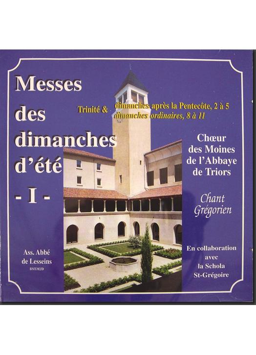 Masses of Sundays of Summer I (Triors)