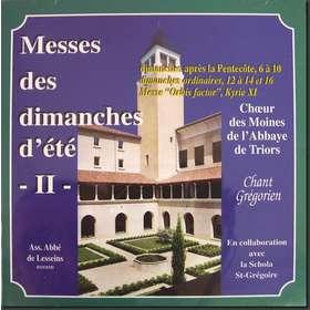 Misas de los domingos de verano II (Triors)